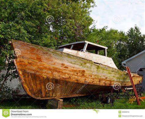 Wooden Boat Hull Repair by Boat Repair Stock Images Image 36569374
