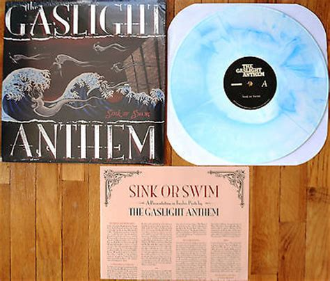 popsike com gaslight anthem sink or swim vinyl 700