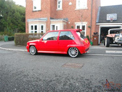 renault red 1990 renault 5 gt turbo red torsion tuning ex demo