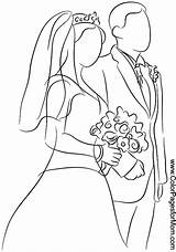 Coloring Pages Weddings Adult Printable Coloringpages Colorpagesformom sketch template