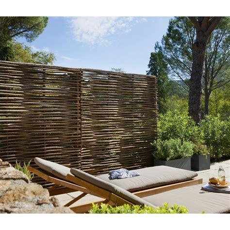 panneau bois ajour 233 l 150 cm x h 180 cm naturel leroy