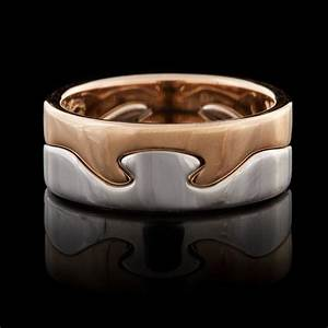 Georg jensen fusion puzzle ring 66mint fine estate jewelry for Georg jensen wedding rings