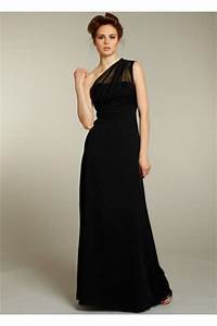 long black dresses for a wedding dress fa With long black dress for wedding