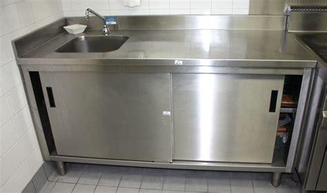 meuble cuisine inox professionnel meuble evier inox pas cher