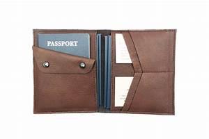 family passport holder travel document organizer wallet With leather family travel document holder