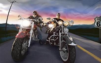 Biker Lifestyle Living Bikers Everyone
