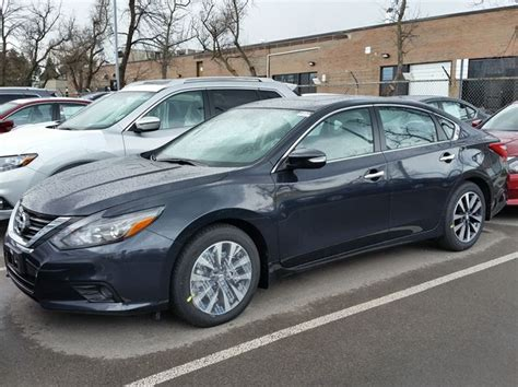 grey nissan altima 2016 nissan altima 2 5 sl tech dark grey woodchester