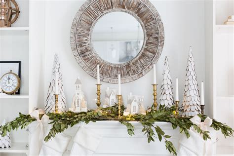 easy  elegant christmas mantel ideas