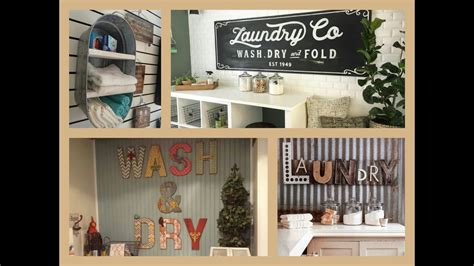 Diy Laundry Room Decor - laundry room decor ideas diy home decorations