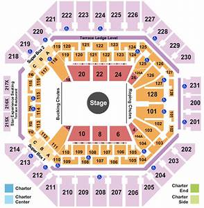At U0026t Center Seating Chart