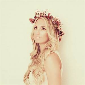 Bridal hair, flower crown | formal hairstyles | Pinterest
