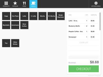 browser based pos system pos design web design pos
