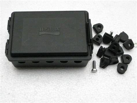 ifor williams style trailer junction box with wiring grommets ebay
