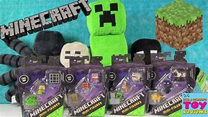 Minecraft Obsidian Series 4 3 Packs Exclusive Figures