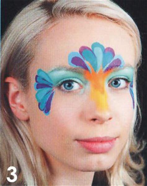 paradiesvogel schminken kinderschminken schminken