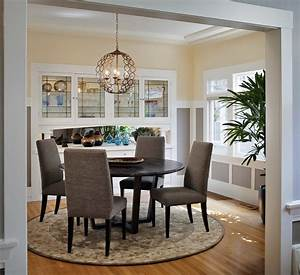 Craftsman, Lighting, For, Dining, Room, With, Round, Table, 51079