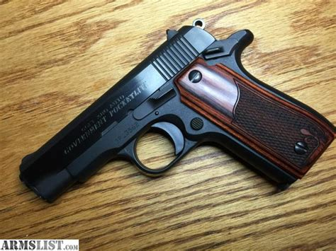 ARMSLIST - For Sale: COLT GOVERNMENT 380 POCKETLITE