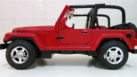 small jeep for kids red jeep wrangler matchbox car