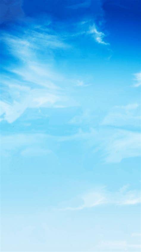 Blue Wallpaper Portrait by Nature Bright Sky View Iphone 6 Plus Wallpaper