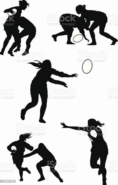 Rugby Vector Illustration Illustrations Istock Woman Clip