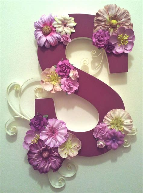 paper teal craft project  decorated wooden letter wooden letters decorated wooden letter