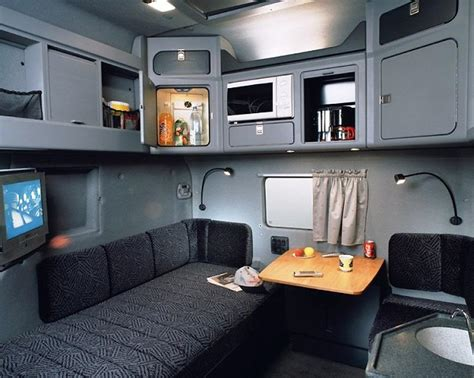 what does interior what the best dressed european sleeper cab should look