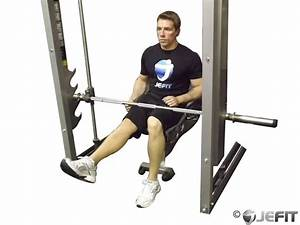 Smith Machine Seated One Leg Calf Raise