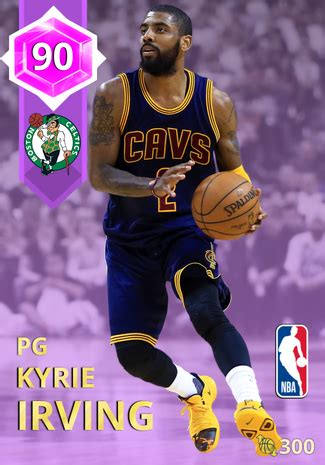 kyrie irving  myteam amethyst card kmtcentral