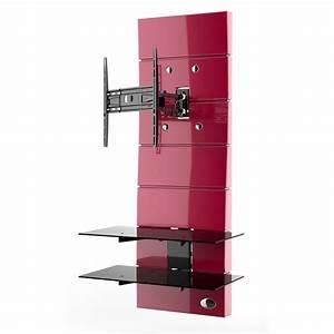 Meuble Avec Support Tv : meliconi ghost design 3000 rotation rouge meuble tv ~ Dailycaller-alerts.com Idées de Décoration