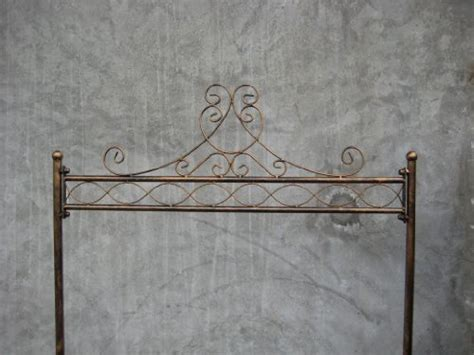shabby chic hanging rail antique bronze clothes coat garment cloth wardrobe clothing hanging rail rails rack racks stand