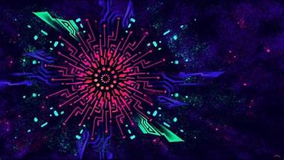 Blacklight Background Backgrounds Colorful Wallpapers Sacred Four
