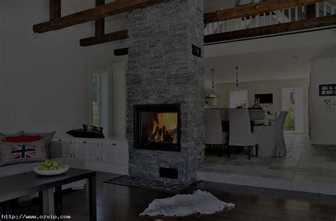 Fantastic Scandinavian House Living Room Modern Stone