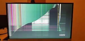 Display Riss Reparieren : monitor riss mit bild computer pc technik ~ Watch28wear.com Haus und Dekorationen