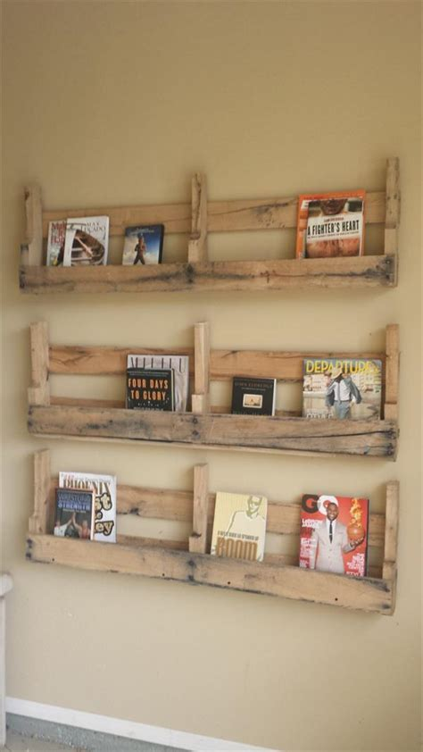 DIY Pallet Wall Shelf   Wooden Pallet Furniture