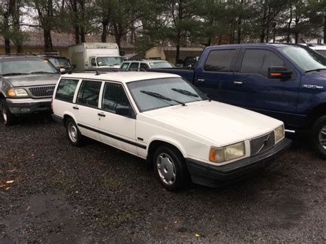1994 Volvo 940 Wagon by 1994 Volvo 940 White Clean Wagon For Sale Photos