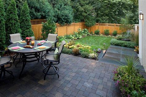 Small Backyard Landscaping Ideas With Small Patio And