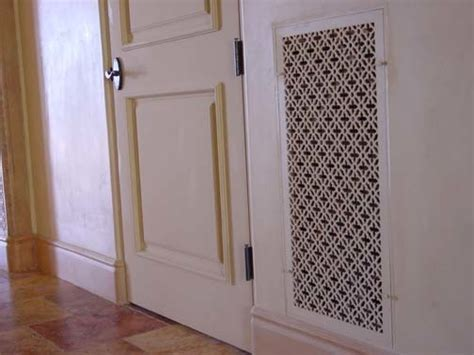 decorative floor return air grille 301 moved permanently