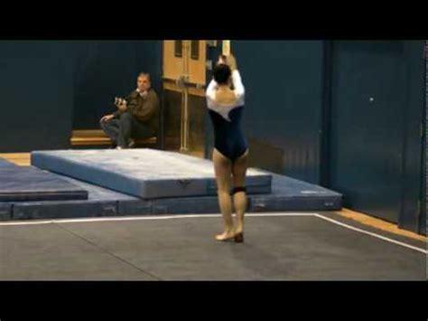 usa gymnastics level 9 floor routine mpg youtube