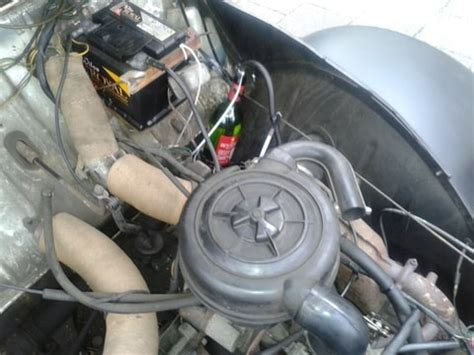 Renault Garage Scherpenzeel by Slang Gescheurd Boven Op Benzine Tank 2cv Nl