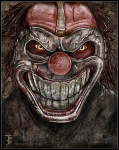 Scary Killer Clowns Drawings