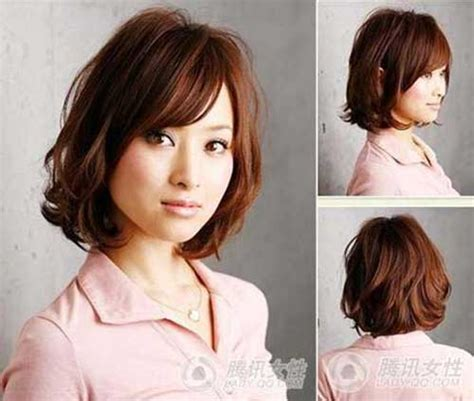 short wavy hairstyles  bangs short hairstyles