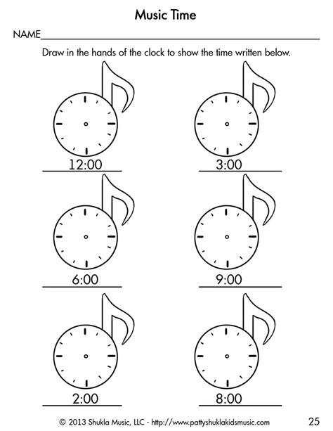 download worksheets for children patty shukla kids music