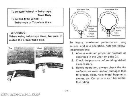 1981 yamaha xv750h virago motorcycle owners manual ebay