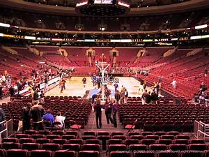 Wells Fargo Center Section 107