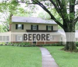 Kitchen Facelift Before And After by Updating A Traditional Two Story House In Delaware