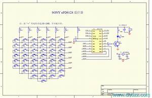 Sony Color Tv Remote Control Circuit Diagram