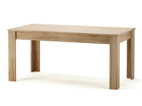 table a manger cuisine table à manger rectangulaire en bois 160 x 90 cm