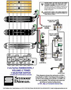 3 Humbucker 5 Way Switch Wiring Diagram