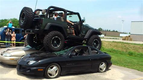 Jeep Car : Jeep Jk Car Crush