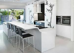 Schwarze Arbeitsplatte Küche : 25 arbeitsplatten f r k chen die sie mit ihrem design faszinieren ~ Sanjose-hotels-ca.com Haus und Dekorationen